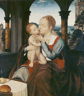 Quinten Massys: Maria mit dem Kinde
