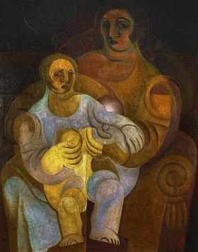 Juan Gris: Mutter und Kind