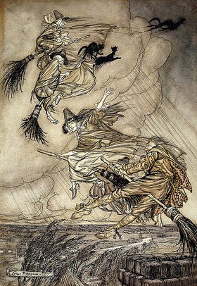 Arthur Rackham: 'The Ingoldsby Legends': Titelbild