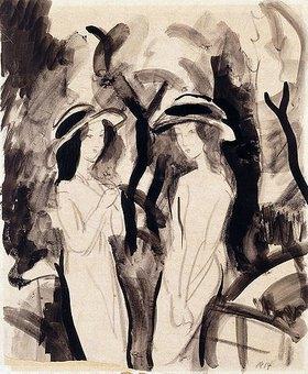 August Macke: Zwei Mädchen