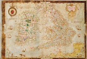 Laurence Nowell: Eine allgemeine Darstellung von England und Irland