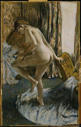 Edgar Degas: Nach dem Bad (Apres le Bain)