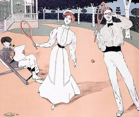 Maurice Biais: Das Tennisspiel