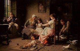 Giovanni Battista Torriglia: Hilfe für die Mutter