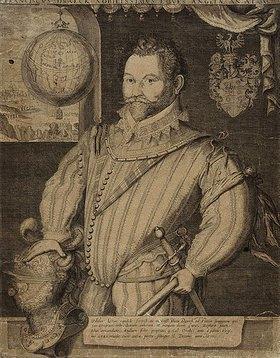 Jodocus Hondius: Sir Francis Drake