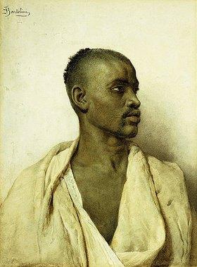 Frederico Bartolini: Portrait eines Arabers