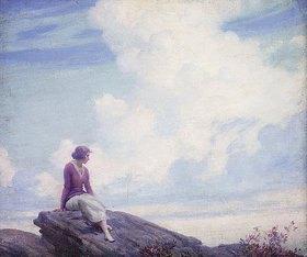 Charles Courtney Curran: Die Wolke