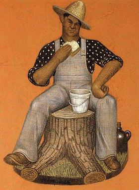 Grant Wood: Der Lohnarbeiter