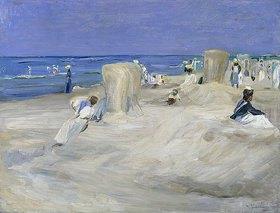 Max Liebermann: Am Strand von Nordwijk