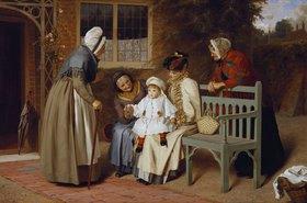 James Hayllar: Der Mittelpunkt der Familie