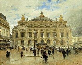 Frank Myers Boggs: Grand Opera House, Paris. (Palais Garnier.)