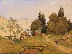 Hans Thoma: Happacher Mühle (Die einsame Mühle)