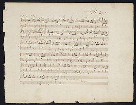 Frédéric Chopin: Walzer Op. 70 Nr. 1 in Ges-Dur. Eigenhändiges Manuskript