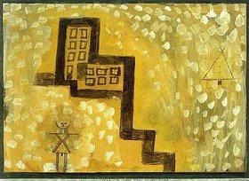 Paul Klee: Das Haus in der Höhe