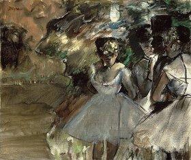 Edgar Degas: Drei Tänzerinnen in den Kulissen (Trois Danseuses dans les Coulisses). Cir