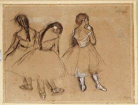 Edgar Degas: Drei Tänzerinnen (Trois Danseuses)