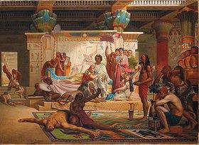 Antoine van Hammée: Antonius und Kleopatra überwachen die Hinrichtung der Verschwörer