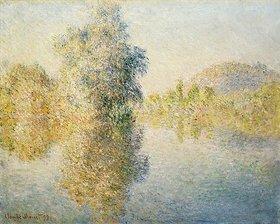 Claude Monet: Die Seine bei Giverny am frühen Morgen (Matin sur la Seine a Giverny)