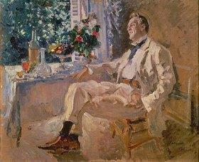 Alexejew. Konstantin Korovin: Bildnis des Sängers Fjodor Schaljapin