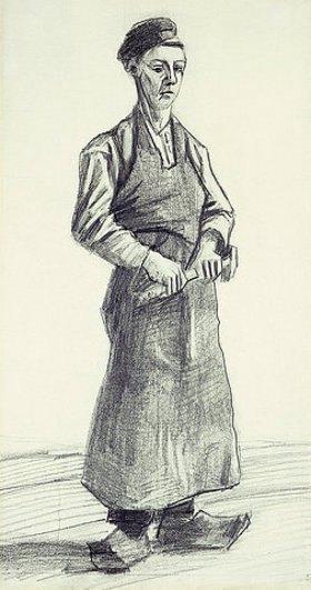 Vincent van Gogh: Der junge Schmied (Le Garcon Forgeron)