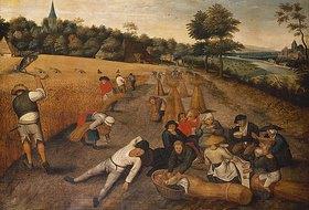 Pieter Brueghel d.J.: Bei der Getreideernte