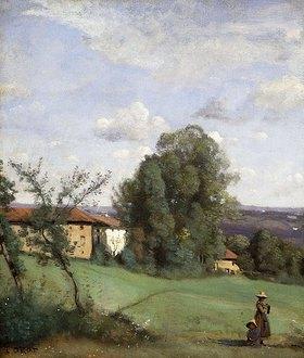 Jean-Baptiste Camille Corot: Ein Bauernhof in Dardagny