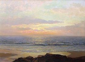 Frederick Judd Waugh: Sonnenuntergang über dem Meer