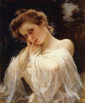 Louis Marie de Schryver: Eine schöne junge Frau