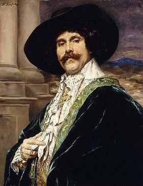 Ferdinand Roybet: Ein Edelmann von Ludwig XVIII