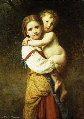 William Adolphe Bouguereau: Die große Schwester