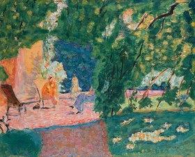 Pierre Bonnard: Gespräch in einem südlichen Garten (Le Bosquet)