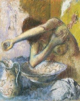Edgar Degas: Junge Frau bei der Toilette