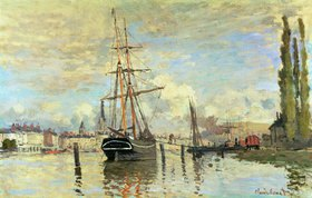 Claude Monet: Die Seine in Rouen