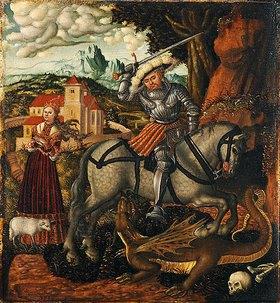 Lucas Cranach d.Ä.: Georg im Kampf