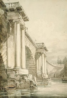 Joseph Mallord William Turner: Old Blackfriars Bridge, London
