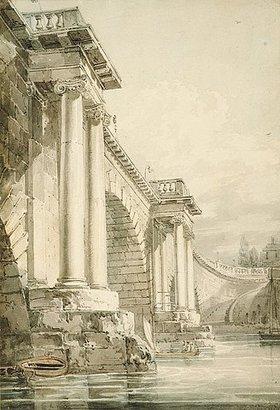 Joseph Mallord William Turner: Old Blackfriars Bridge, London