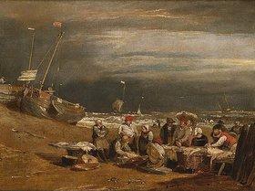 Joseph Mallord William Turner: Ein Fischmarkt am Strand