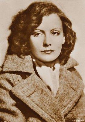 Anonym: Die schwedische Filmschauspielerin Greta Garbo