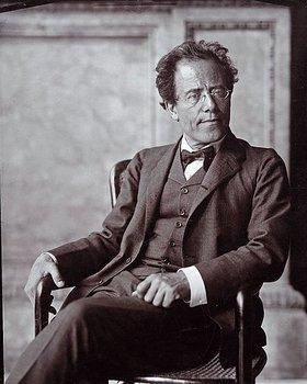 Moritz Nähr: Der österreichische Komponist Gustav Mahler