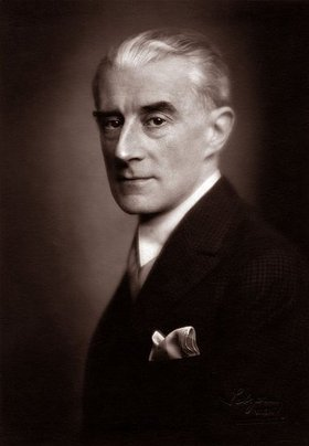 Franz Xaver Setzer: Der französische Komponist und Pianist Maurice Ravel. 1929.
