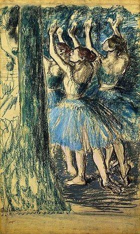 Edgar Degas: Tänzerinnen auf der Bühne (Danseuses en Scene)