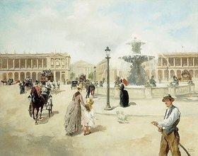 Vicente García de Paredes: La Place de la Concorde