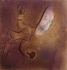 Paul Klee: Brutaler Pierrot