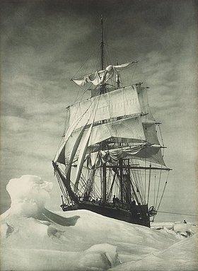 Herbert Ponting: Die eingefrorene 'Terra Nova' der britischen Antarktisexpedition