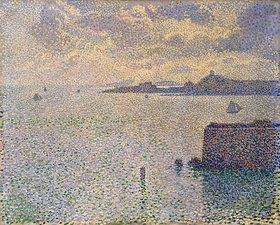 Theo van Rysselberghe: Hafen von Roscoff in Finistère, Bretagne