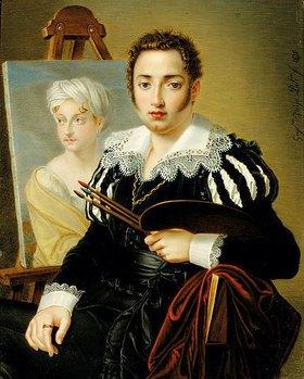 Guglielmo Faija: Ein junger Künstler (vielleicht ein Selbstporträt)