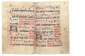 Unbekannt: Prozessionsbuch: Der Sarum-Usus. Latein. England, spätes 15. Jahrhundert