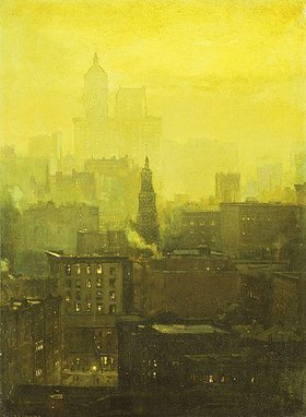 Paul Cornoyer: Urban Nocturne