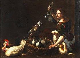 Tommaso Salini: Die Geflügelhändlerin