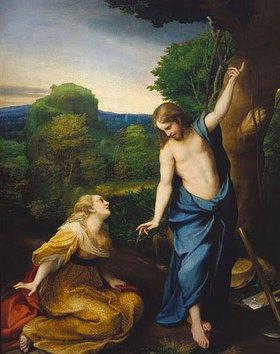 Correggio (Antonio Allegri): Noli me tangere
